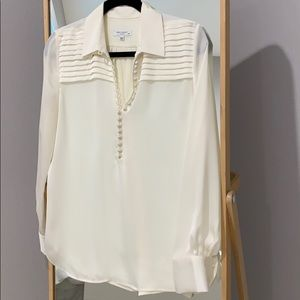 Equipment  long sleeve blouse